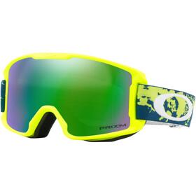 Oakley Line Miner Snow Goggle Youth Arctic Fracture Retina/Prizm Snow Jade Iridium